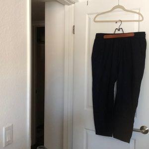 JCrew Navy Linen Pants